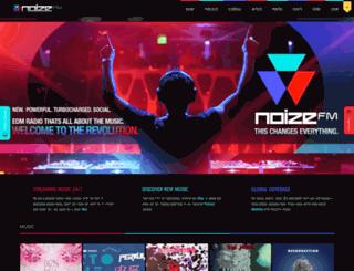 noize.fm screenshot