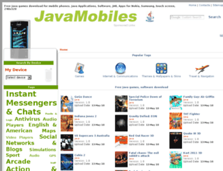 nokia-asha-302.java-mobiles.net screenshot