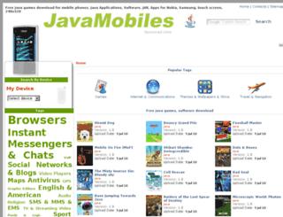 nokia-asha-305.java-mobiles.net screenshot