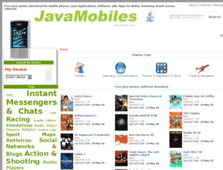 nokia-asha-501.java-mobiles.net screenshot
