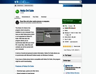 nokia-ovi-suite.en.lo4d.com screenshot