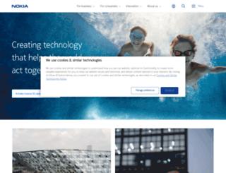 nokia.co.uk screenshot