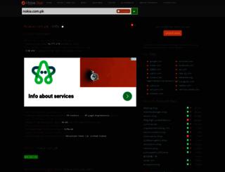 nokia.com.pk.hypestat.com screenshot