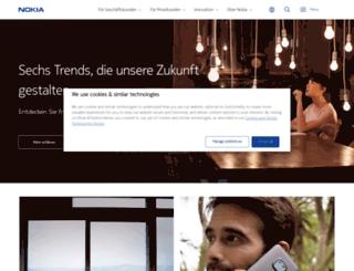 nokia.de screenshot