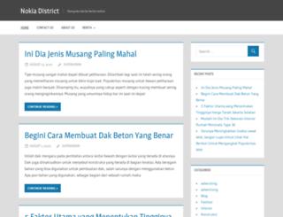 nokiadistrict.com screenshot