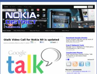 nokiae6applications.com screenshot