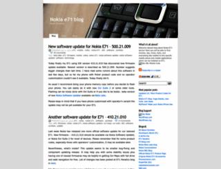 nokiae71.wordpress.com screenshot