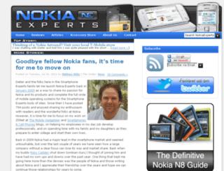 nokiaexperts.com screenshot