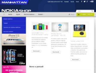 nokiashop.rs screenshot