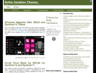 nokiasymbianthemes.net screenshot