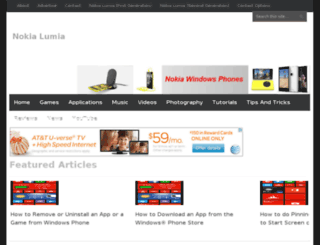 nokiawp.com screenshot