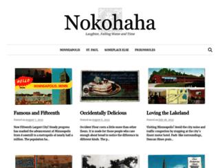 nokohaha.com screenshot