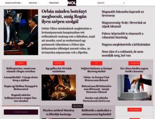 nol.hu screenshot
