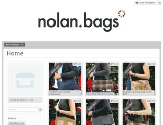 nolanbags.storenvy.com screenshot