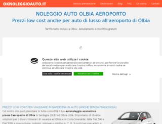 noleggioautoolbiaaeroporto.it screenshot