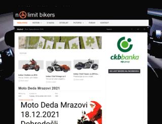 nolimitbikers.com screenshot