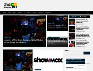 nollysilverscreen.com screenshot