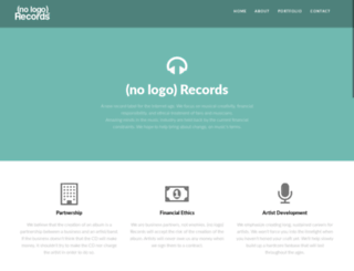 nologorecords.com screenshot