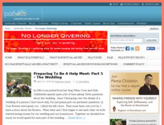 nolongerquivering.com screenshot