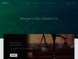 nolopade.com screenshot