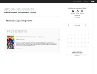 noma-business-improvement-district.ticketleap.com screenshot