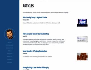 nomachetejuggling.com screenshot