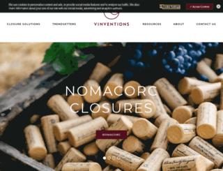 nomacorc.com screenshot