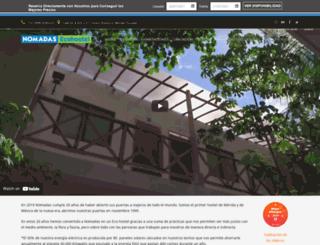nomadastravel.com screenshot