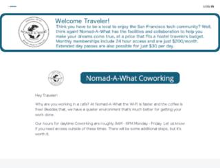 nomadawhat.cobot.me screenshot