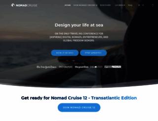 nomadcruise.com screenshot