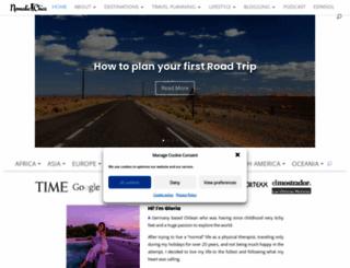 nomadicchica.com screenshot