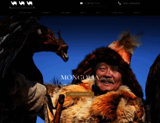 nomadicexpeditions.com screenshot