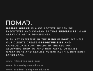 nomadmediatv.com screenshot
