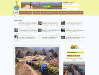 nomadtravellers.com screenshot
