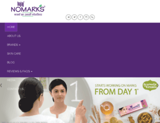 nomarks.in screenshot