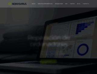 nomasvirus.com screenshot