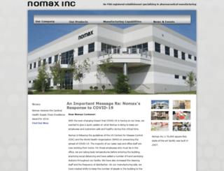 nomax.com screenshot