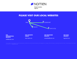 nomen.com screenshot