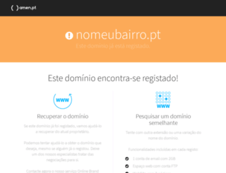 nomeubairro.pt screenshot