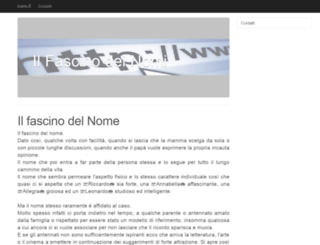 nomi.it screenshot