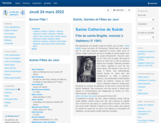 nominis.cef.fr screenshot