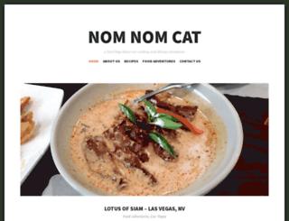 nomnomcat.com screenshot