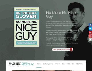 nomoremrniceguy.com screenshot