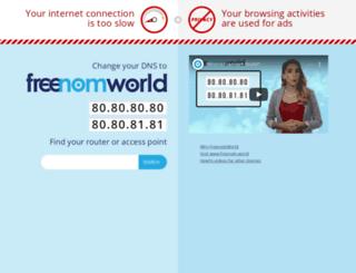 nomproject.tk screenshot