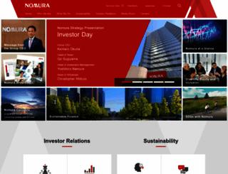 nomura.com screenshot