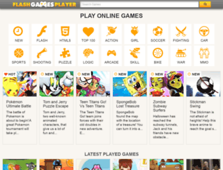 non-flash-games.flashgamesplayer.com screenshot