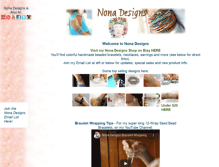 nonadesigns.com screenshot