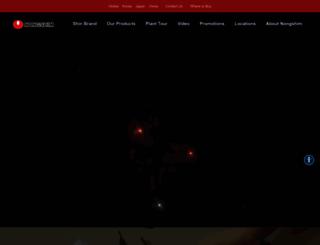 nongshimusa.com screenshot