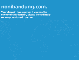 nonibandung.com screenshot