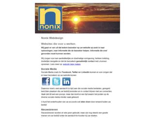 nonix-webdesign.com screenshot